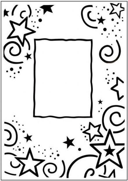 CTFD 3031 ~ STARS FRAME ~ embossing folder CRAFTS TOO